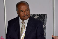 Osman Mohammed Saleh, Minister for Foreign Affairs of Eritrea Stock Photos