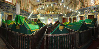 Osmanesultan, Sultan Abraham-` s Frau ist falsch die turhan Sultan Grab/Istanbul-Türkei Stockfotografie