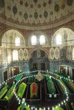 Osmanesultan, Sultan Abraham-` s Frau ist falsch die turhan Sultan Grab/Istanbul-Türkei Stockbild