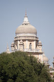 Osmania Hospital Dome. One of the domes adorning Osmania Hospital in the centre of Hyderabad, India.  Built in Victorian times it is one of the best known Stock Photo