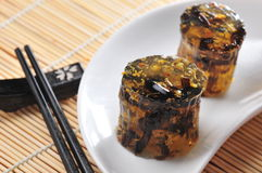Osmanthus jelly cake Stock Images
