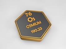 Chemical element osmium from the periodic table stock illustration osmium os chemical element periodic table hexagonal shape stock photography urtaz Choice Image