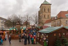 Osnabrück - christmas market Royalty Free Stock Photo