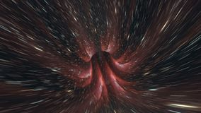 Osnowowy pozaziemski pętli galaxy tło ilustracji