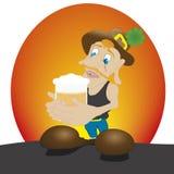 Un hombre de la cerveza Imagenes de archivo