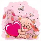 Oso con el corazón libre illustration