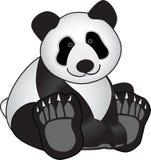 Oso de la panda ilustración del vector