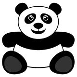 Oso de panda Imagen de archivo libre de regalías