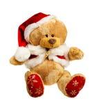 Oso de peluche de la Navidad Imagen de archivo libre de regalías