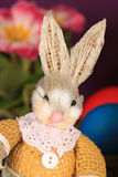 Oso de peluche del conejito de pascua Foto de archivo libre de regalías