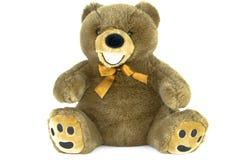 oso de peluche marrón clásico aislado en blanco Imagen de archivo