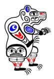 Oso del Haida Foto de archivo libre de regalías