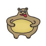 Oso gordo Imagen de archivo