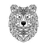 Oso ornamental Imagen de archivo libre de regalías
