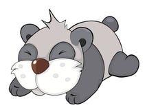 Oso Panda historieta Fotografía de archivo libre de regalías