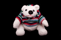 Oso polar del peluche foto de archivo libre de regalías
