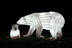 Oso polar del terciopelo Foto de archivo