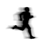 osoba bieg które ilustracja wektor
