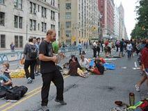 Osoba klimat Marzec Miasto Nowy Jork 2014 Fotografia Stock