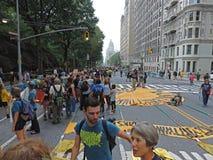 Osoba klimat Marzec Miasto Nowy Jork 2014 Zdjęcie Royalty Free