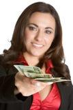 osoba kobieta wydatków obrazy stock
