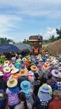 Osoba w nakornratchasima Thailand bardzo ładny Obrazy Stock