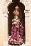 Osoba z rocznik suknią Fotografia Royalty Free