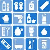 osobiste higien ikony ilustracja wektor