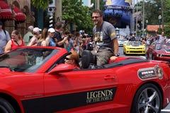 Osobistość gość Steve Blum podczas Star Wars weekendów 2014 fotografia royalty free