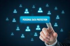 Osobisty dane ochrony pojęcie Obraz Stock