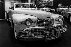 Osobisty luksusowy samochodowy Lincoln Kontynentalny kabriolet, 1948 Obrazy Royalty Free