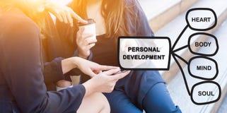 Osobisty rozwój umiejętności pojęcie zdjęcia royalty free