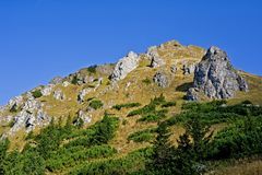 Osobita peak in the Western Tatras Royalty Free Stock Photo