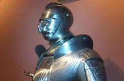 Osobliwy rycerza opancerzenie Zdjęcia Royalty Free