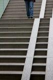 Osoby chodzący puszka schodki Obrazy Royalty Free