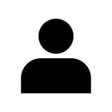 Osoby ikona - wektorowy ikonowy projekt Obrazy Royalty Free