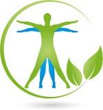Osoby w drodze, Barwiony, sprawność fizyczna i zdrowie logo, ilustracji