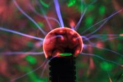 Osocze lampowy eksperyment zdjęcie royalty free