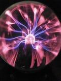 Osocze piłki światła ozonu fluorescencyjny tesla fotografia stock