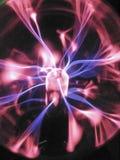 Osocze piłki światła ozonu fluorescencyjny tesla zdjęcie royalty free