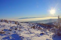 Osogovo-Berg, Bulgarien, Europa lizenzfreie stockfotos
