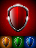 Osłona logo Zdjęcie Stock
