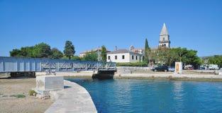 Osor, Cres-Insel, adriatisches Meer, Kvarner, Kroatien Lizenzfreie Stockfotos