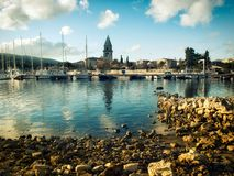 Osor port Stock Photos