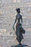 Osor ` s庭院雕塑 免版税库存照片