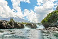 Osorno siklawa Fotografia Stock