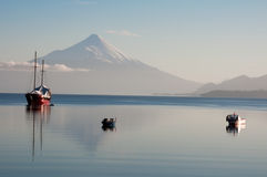 Osorno volcano Royalty Free Stock Images