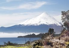 Osorno volcano Stock Photo