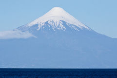 Osorno Volcano in Chile Stock Images