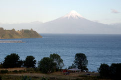Osorno Volcano in Chile Royalty Free Stock Photo